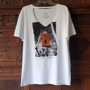 NWOT Justin Timberlake Choker Tee Shirt XL